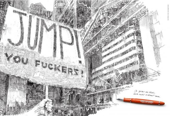 Die mehrfach preisgekrönte »Spiegel«-Kampagne von Jung von Matt mit Illustrationen von David von Bassewitz