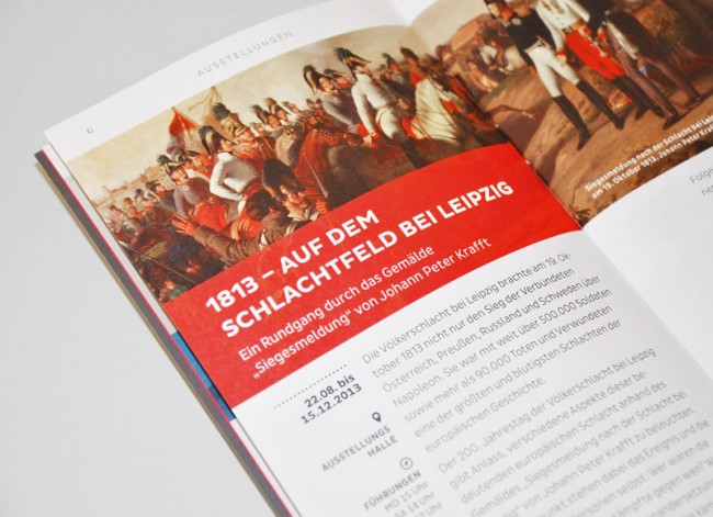 Deutsches Historisches Museum, Quartalsprogramm