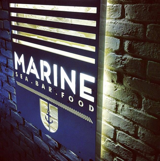 MARINE sea.bar.food