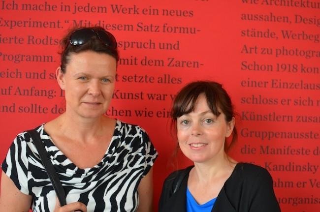 Birgit Wendholt (l.) und Franziska Hübler