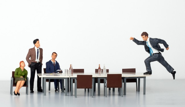 Der erste Tag | Harvard Business Manager | Foto: Jan Bölsche