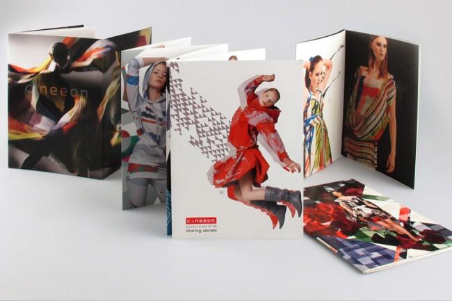 Auswahl von Lookbooks für das Label c.neeon