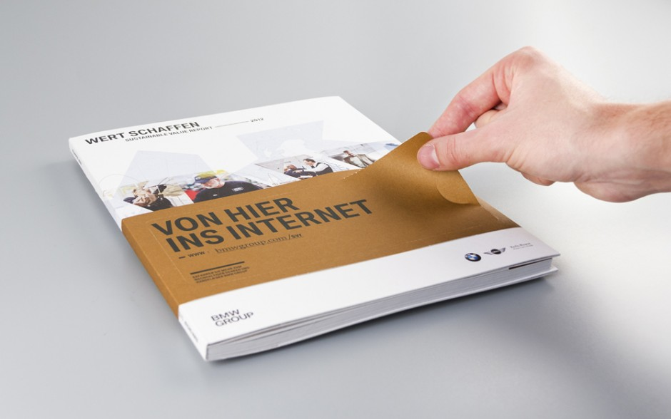 Sustainable Value Report: Strichpunkt für BMW 2012