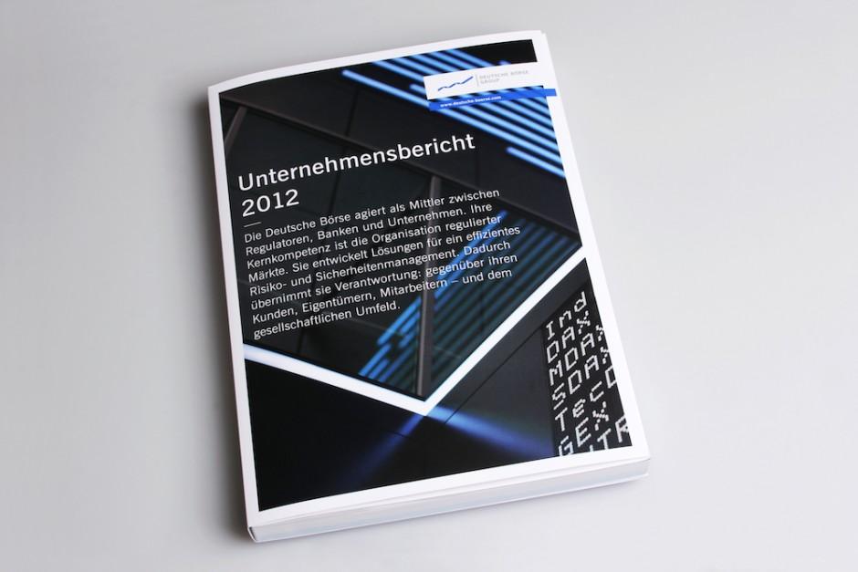kombinierter Bericht: wirdesign für Deutsche Börse 2012