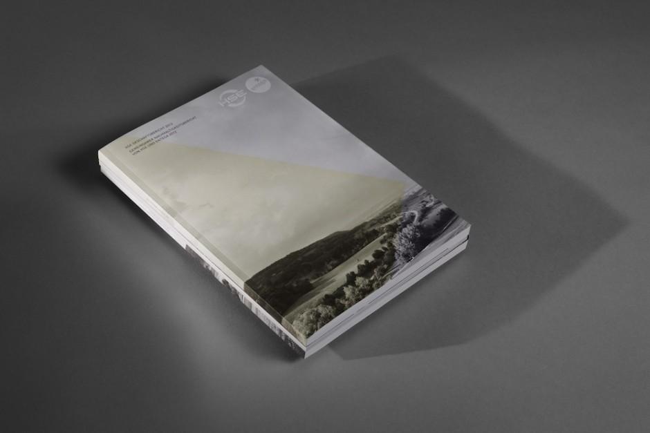 Geschäfts- und Nachhaltigkeitsbericht: Heisters + Partner für Entega 2012