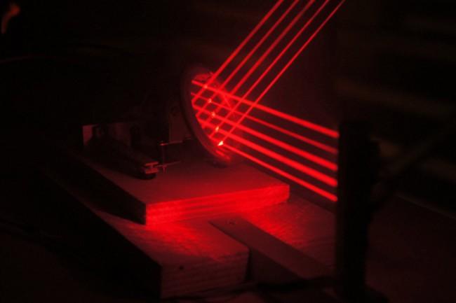360° Laser Beamer | Laser Beamer rundum Projektion zur 360° Darstellung von Visuals im Raum