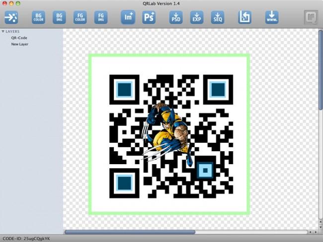 QR-Lab   Software zur Entwicklung von Designer-QR-Codes