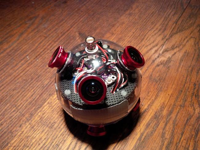 360° Cam   Prototyp einer 360° Kamera für das Oculus Rift