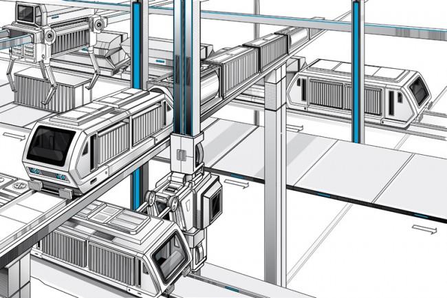 Zukunft und Innovation, Logistik- Transportwesen, Editorial - Aufmacher