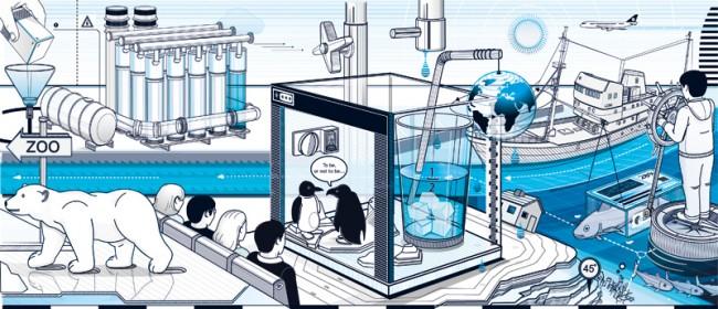 Wie MINT gelingen kann!, Broschüre – Aufmacher, Projektbeschreibung, Wasserakademie Bremerhaven