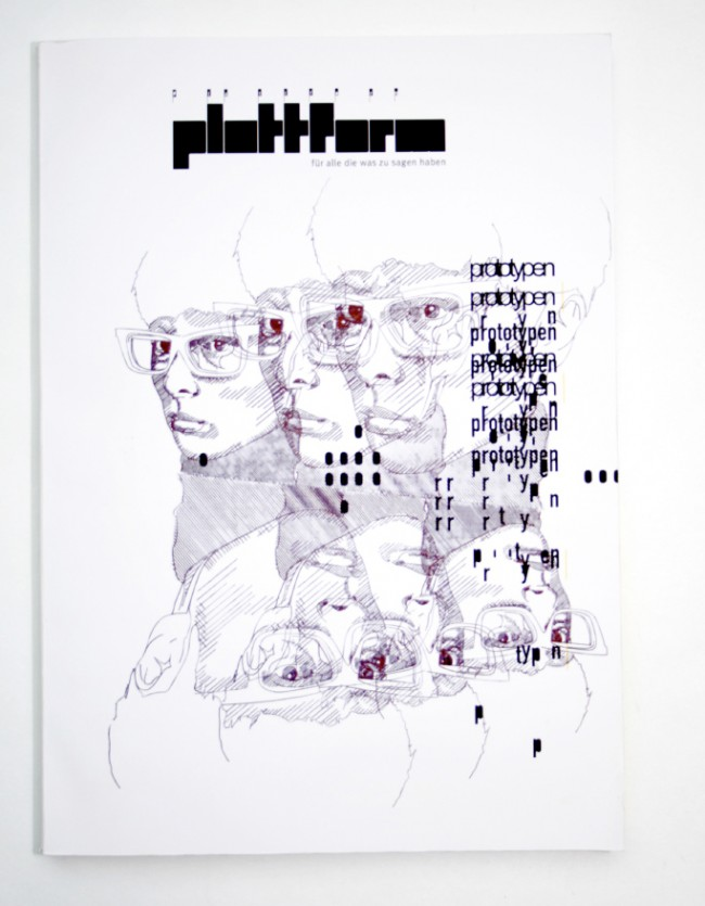 Plattform, Magazin zur Netzwerkbildung, Themenschwerpunkt: Prototypen, Editorial – Coverillustration