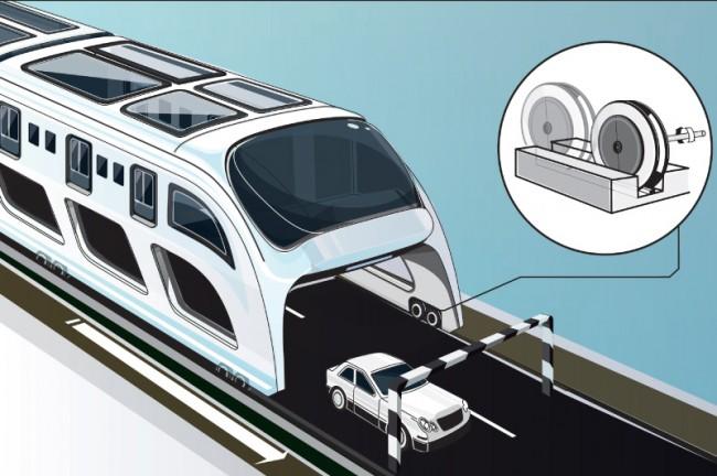 7 Milliarden in Bewegung, Zukunftskonzepte / Massentransportsysteme, Editorial – Infografik, Schienenfahrzeug in China