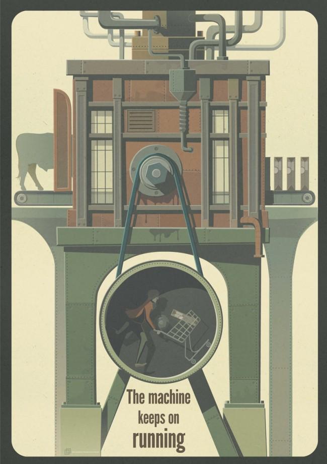 3. Preis: Sebastian Nerlich »The machine keeps on running« | Hochschule Anhalt