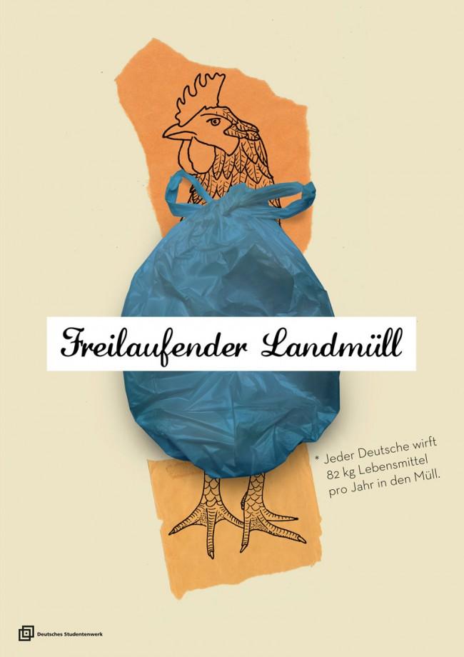 Eileen Eichborn und Daniel Theobald »Freilaufender Landmüll« | Hochschule RheinMain Wiesbaden