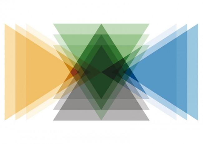 Alexandre Wollner, Erweiterte Farbe 2, 2012, Digitaler Druck