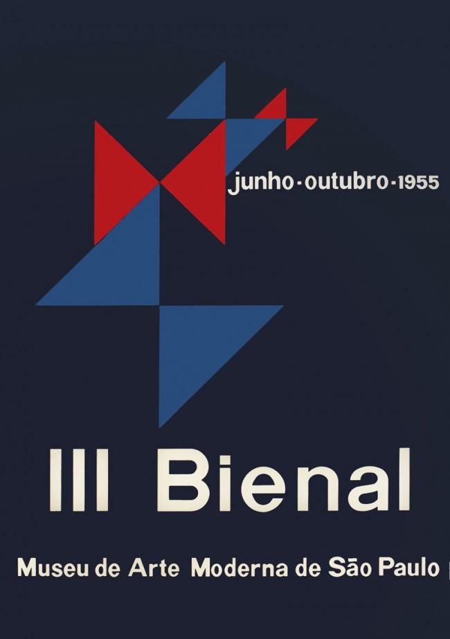3. Biennale von São Paulo, MAC Museum für Zeitgenössische Kunst USP, Biennale-Stiftung São Paulo, Alexandre Wollner und Geraldo de Barros, 1954