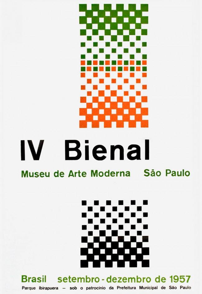 4. Biennale von São Paulo, Alexandre Wollner unter Anleitung von Max Bill, 1957