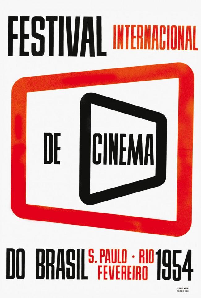 Internationales Filmfestival Brasiliens, Alexandre Wollner und Geraldo de Barros, 1954