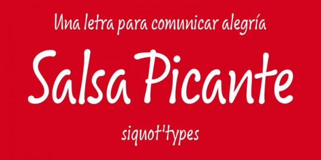 Inzwischen vertreibt Siquot seine digitalisierten Entwürfe aus den 1970ern und 1980ern zusammen mit neuen Designs, wie der fröhlichen Salsa Pikante, unter seinem Label siquot'types
