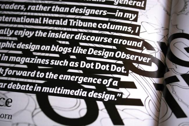 Viele der zumeist humanistischen Sans wie die Ronnia werden aufgrund ihres Detailreichtums und der Verfügbarkeit als Webfont vorzugsweise im Editorial Design eingesetzt
