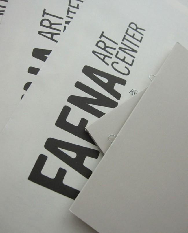Muhafara und Tunni entwickeln auch kundenspezifische Schriften wie für das Kunstzentrum FAENA