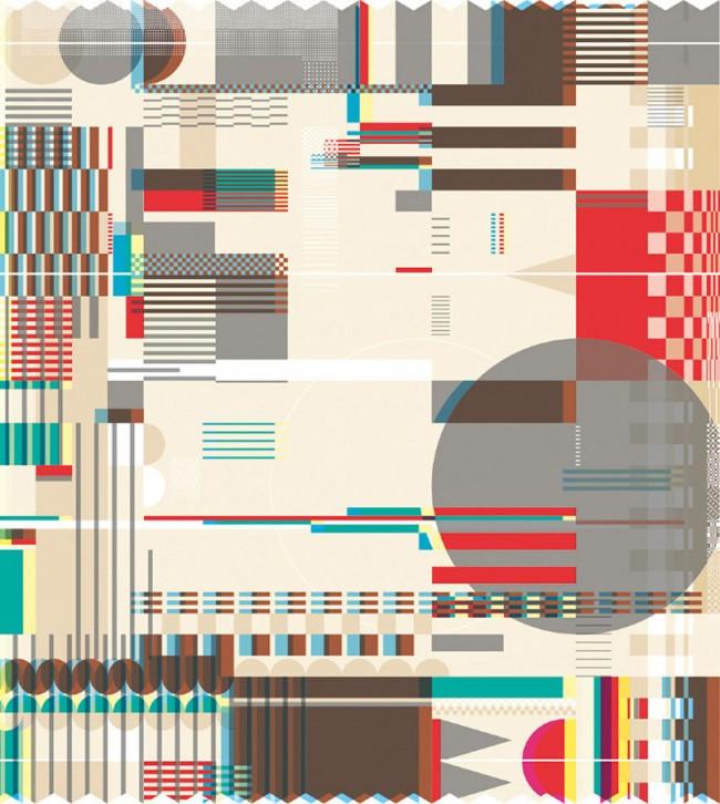Der ehemalige Assistenzprofessor der Universität von Buenos Aires und Freelancer Sébastian Gagin hat 2012 mit kalligrafischen Mitteln ein Jahrbuch für Illustration gestaltet