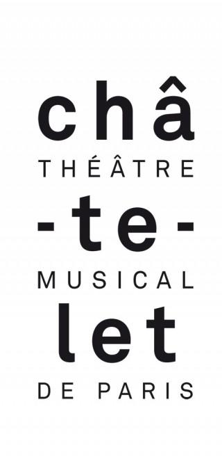 Logotype | Châtelet, Théâtre Musical de Paris | Typography: Akkurat | 2006