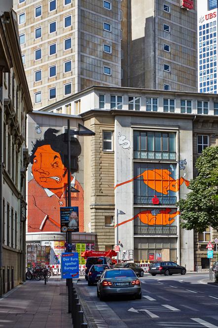 Bild Street Art Brazil Frankfurt