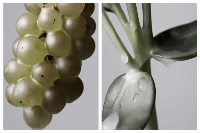 Marie-Christine Gerber, Bilderserie »Wax«
