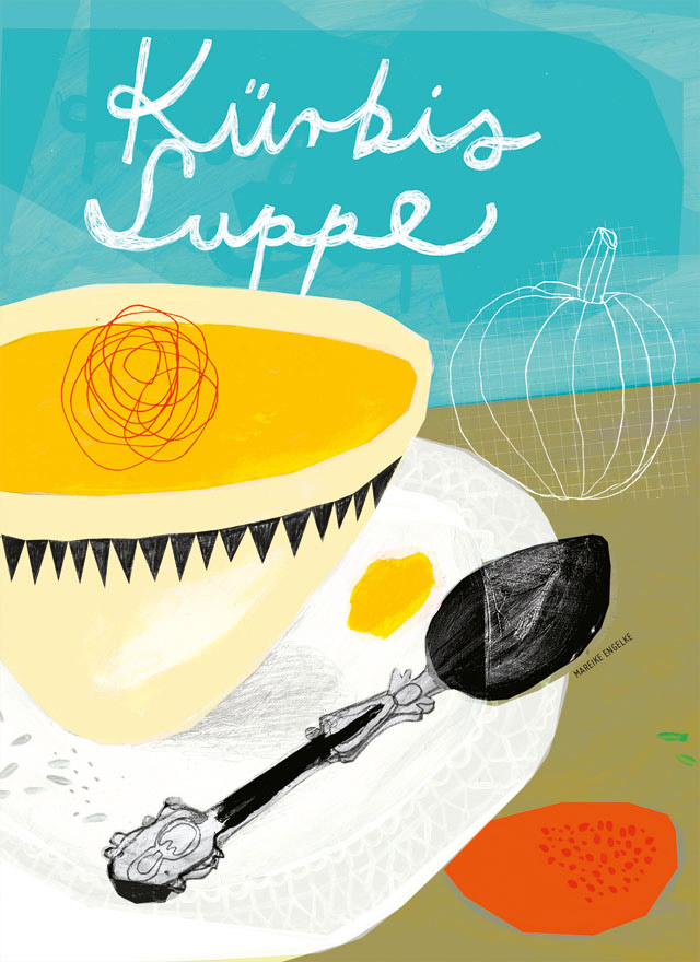 »52 Illustrated Cooking Cards«, Mareike Engelke