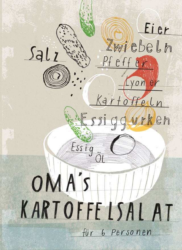 »52 Illustrated Cooking Cards«, Kathrin Frank