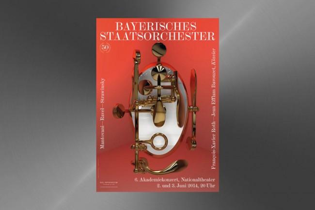 Motive der Bayerischen Staatsoper für das Bayerische Staatsorchester in der Spielzeit 2013/14