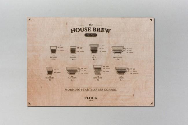 Brand Identity für Flock Café
