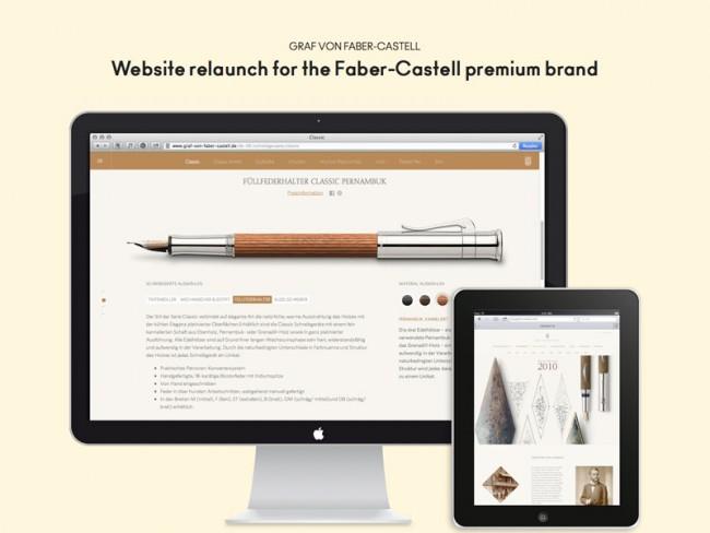 Graf von Faber-Castell relaunch