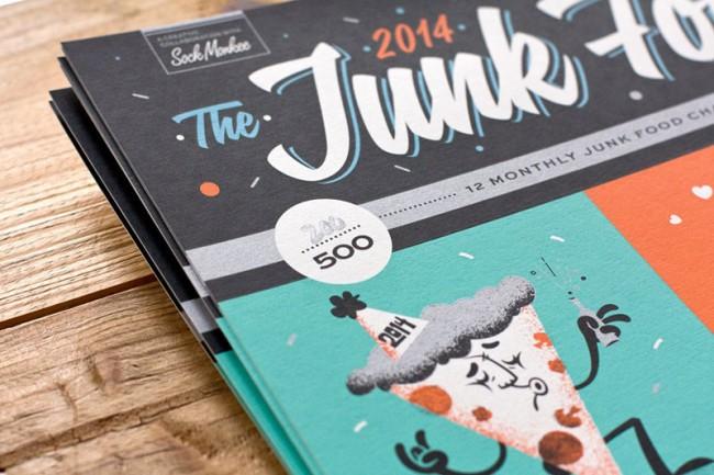 Junk Food Kalender