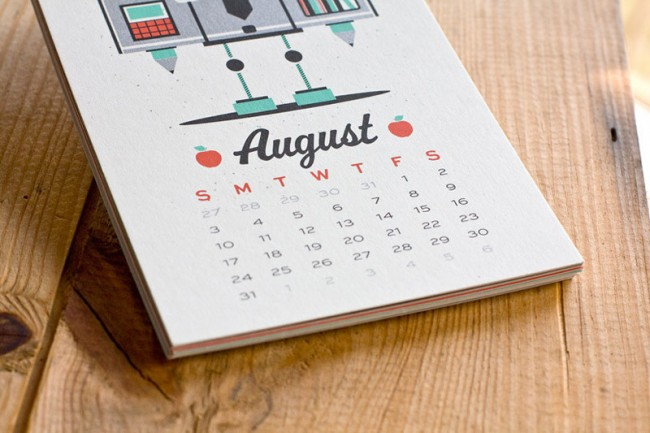 Robot Kalender