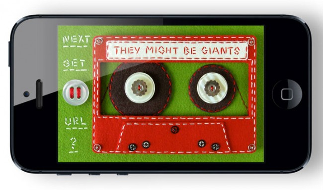 Paul Sahre: They Might Be Giants App