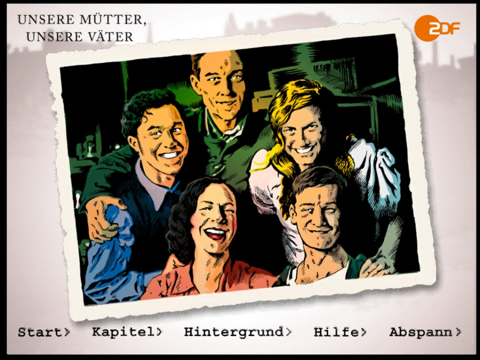 Beste App: Unsere Mütter, unsere Väter Motion Comic ZDF