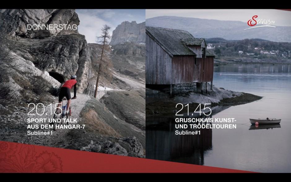 Bestes neues Corporate Designpaket: Servus TV Redesign, Red Bull Media House