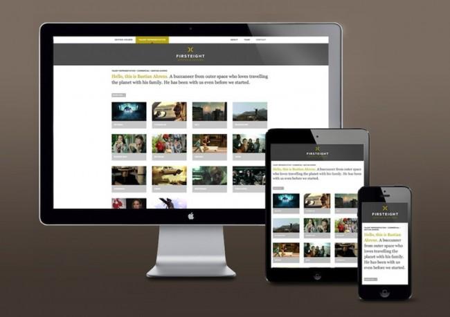 Firsteight - Website und Corporate Design