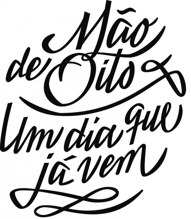 Daniel Sabino de Souza hat bei Laura Meseguer an der EINA in Barcelona studiert. Heute betreibt er in São Paulo sein Studio Blackletra, das von Typedesign bis Lettering alles rund um die Schrift anbietet.