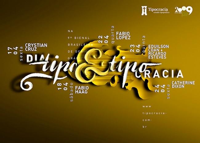 Tipocracia organisierte seitdem zahllose Veranstaltungen, Workshops und Ausstellungen ums Thema Schrift