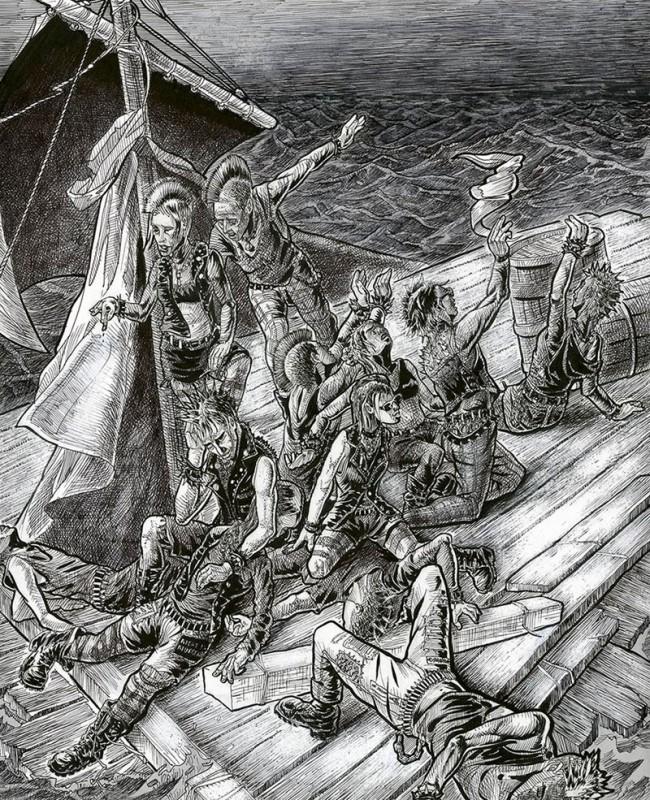 Schiffbruch, 2011
