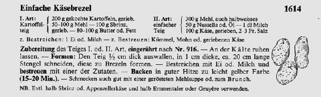 Käsebrezel-Rezept
