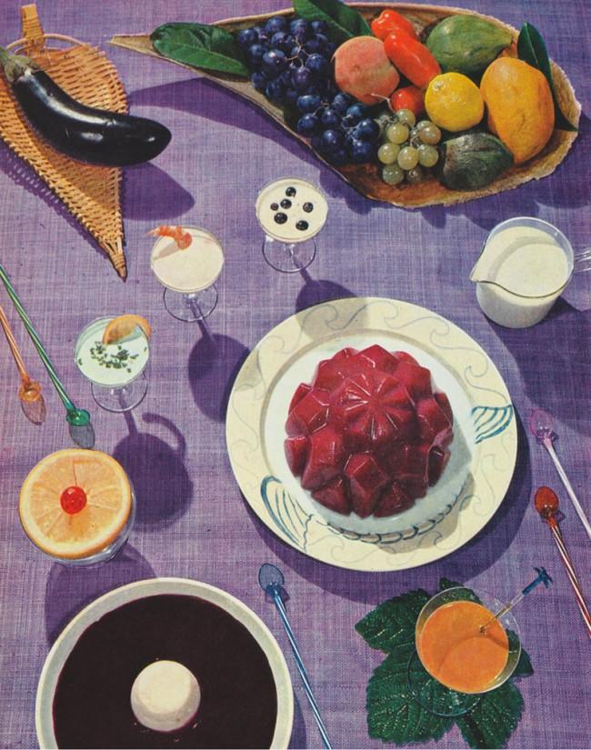 Früchteschale, Cocktail Rote Grütze, Kirschensuppe, Tomatenkaltschale