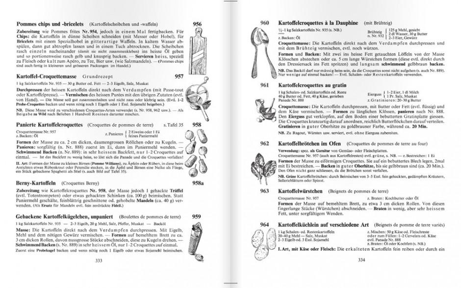 Doppelseite mit Tuschezeichnungen von Elisabeth Fülscher