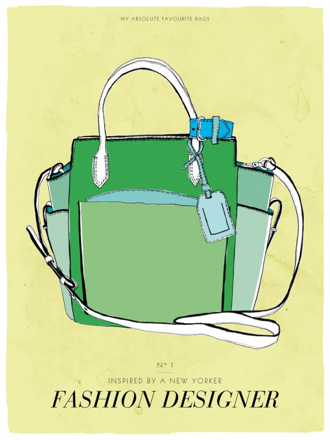 Postkartenserie »My absolute favourite bag«, # 1, 2013
