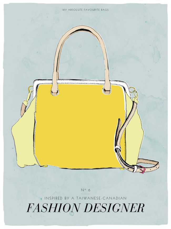 Postkartenserie »My absolute favourite bag«, # 6, 2013