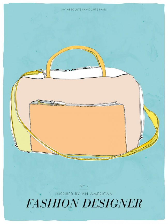 Postkartenserie »My absolute favourite bag«, # 7, 2013