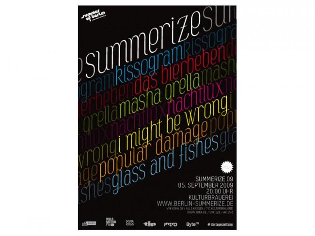 Poster Summerize Festival